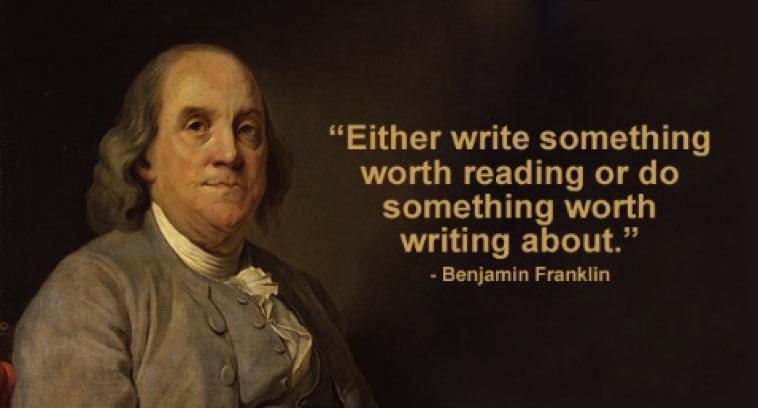 Write Something Worth Reading
