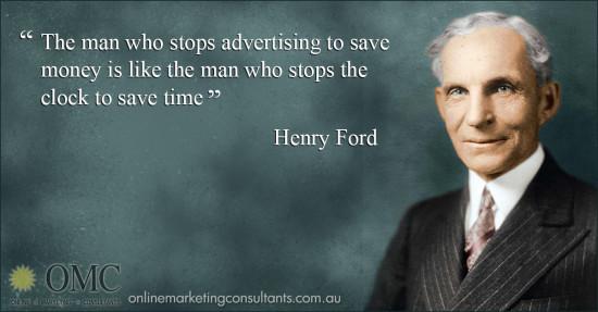 Advertising to Save Money