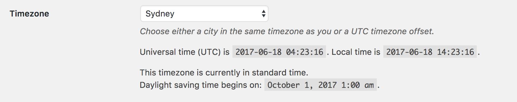 Wordpress SEO Mistake #1 - Time Zone