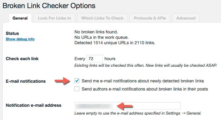 Wordpress SEO Mistakes - Broken Links