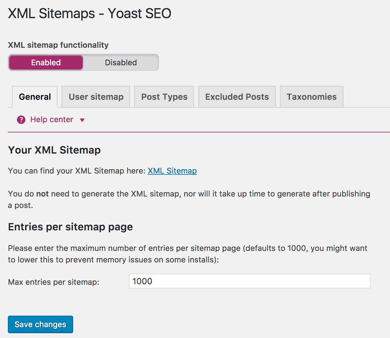 Wordpress SEO Mistakes - XML Sitemap