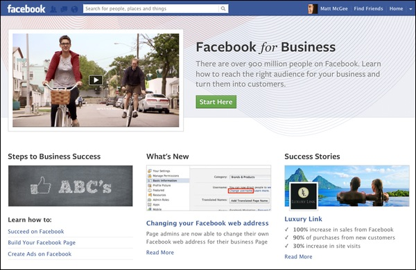 How to Create Your Own Facebook Business Page